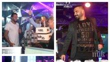 """ПЪРВО В ПИК! Благо Джизъса вдигна яко парти за рождения си ден в """"Клуб 33""""! Пя му Азис, а Есмер... (СНИМКИ)"""