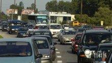 Ад на пътя! Над 20 катастрофи в Бургас само до ранния следобед днес