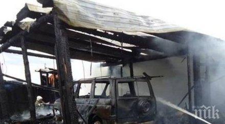 """50-годишен мъж е пострадал при пожар в къща във вилна зона """"Витошица"""" в Банкя"""