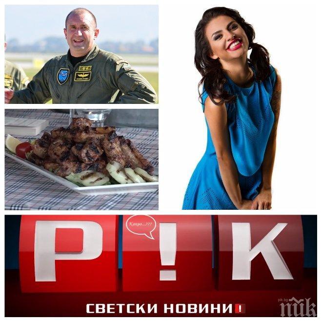 """ЕКСКЛУЗИВНО В ПИК TV! Деси Цонева пред медията ни: Мерак ми е да сготвя свинско на президента Радев - само в """"Жълтите новини"""""""