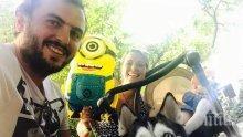 САМО В ПИК! Силвия Петкова заведе сина си на Острова на Боговете (СНИМКИ)