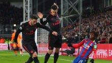 Арсенал пречупи Кристъл Палас в рекорден мач на Венгер