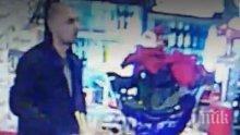 НАГЛА КРАЖБА! Този бандит ограби заведение на пъпа на Бургас! Познавате ли го? (ВИДЕО)