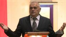 Вътрешният министър Валентин Радев награждава доброволци