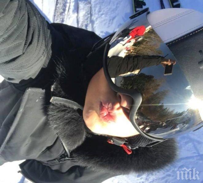 Деси Цонева кара ски на греяно вино със сладко от вишни (ВИДЕО)