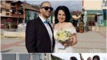 Като в приказките: Камелия и Максим срещнаха любовта на гурбет в чужбина, венчаха се пред 500 души