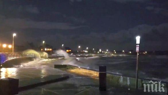 Буря остави без ток 25 000 домакинства на Острова