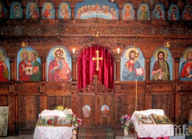 Чудо навръх Нова година! По стените на Златарския манастир се стича миро