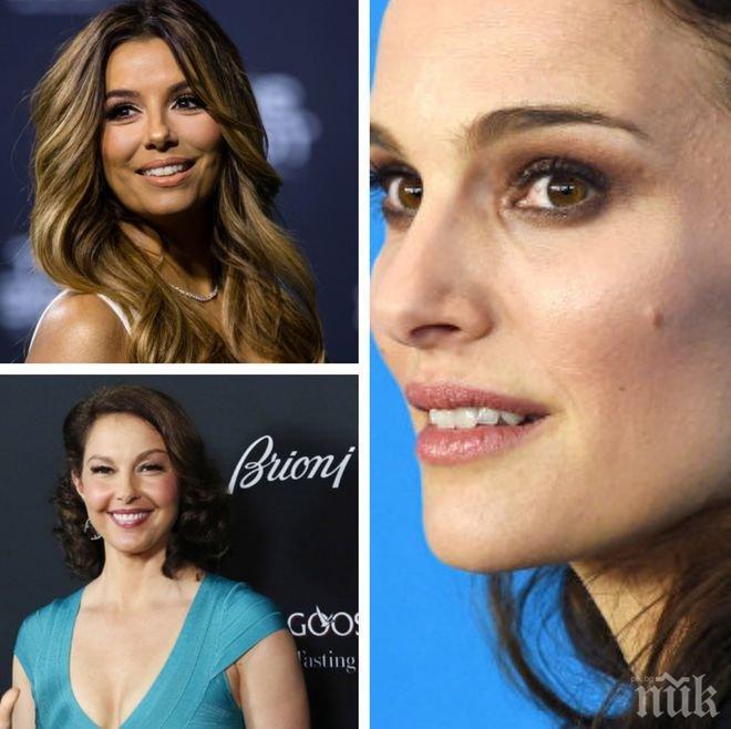 Заедно срещу насилието! Жените от киноиндустрията в Холивуд основаха движение срещу сексуалния тормоз