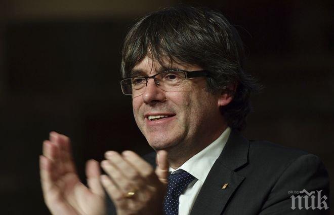 ХИТ! Пучдемон обмислял невероятен план за завръщане в Испания