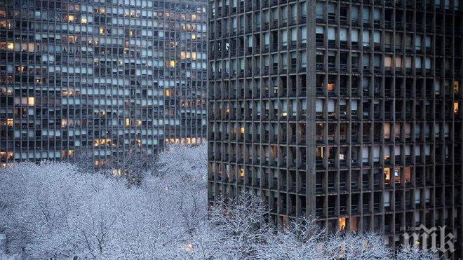ЛЕДЕНА ЕПОХА! Новогодишната нощ в Ню Йорк ще е най-студената за последните 55 години
