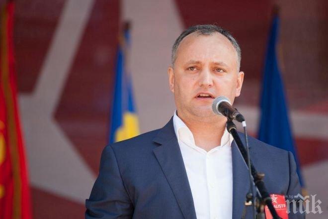 Молдовският Конституционен съд временно преустанови пълномощията на президента Игор Додон (ОБЗОР)
