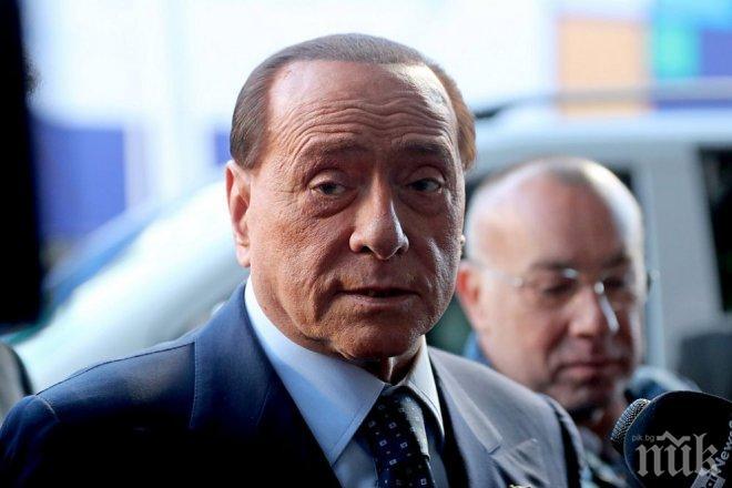 Берлускони номинира Тото Кутуньо и Ал Бано за депутати