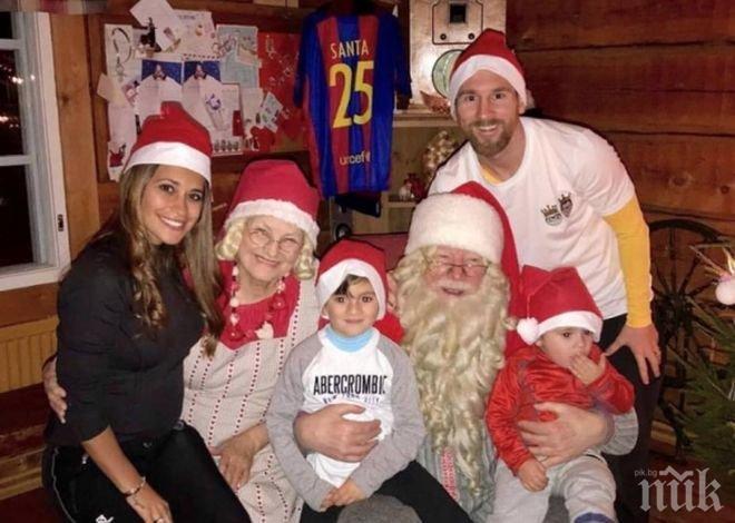 Лео Меси: Дори синът ми ме нарича Меси вместо татко