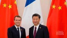ПРИЗНАНИЕ! Макрон подари расов жребец на китайския си колега