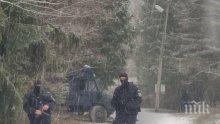 ИЗВЪНРЕДНО! Спецченгета издирват убиеца от Нови Искър! Заградили са село Луково (СНИМКИ/ОБНОВЕНА)