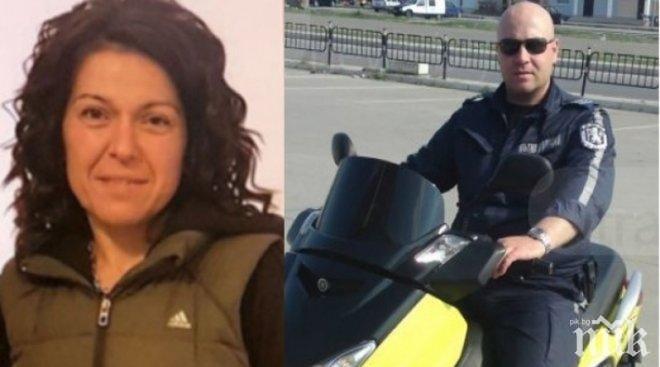 Катя Лерца, която уби полицай на пътя, имала 6 наказания от КАТ