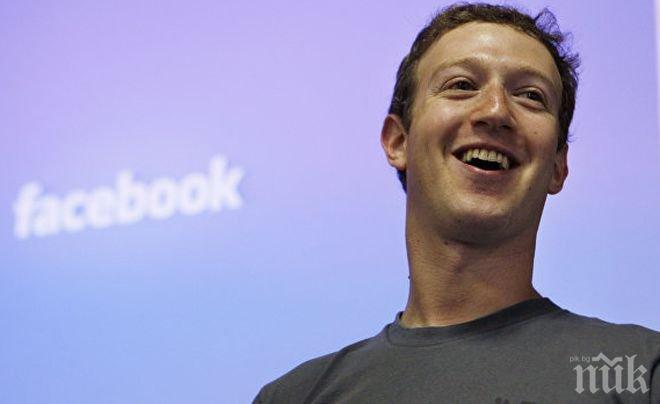 Зукърбърг готви важни промени във Фейсбук през 2018 г.