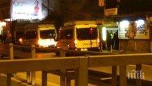 """ИЗВЪНРЕДНО! Акция в София! Полиция проверява помещение на """"Лъвов мост"""" (СНИМКИ)"""