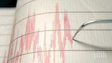 Земетресение с магнитуд 4.7 по Рихтер разлюля Иран