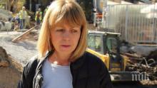 Фандъкова обяви: Започваме миене и метене на улиците в София заради мръсния въздух