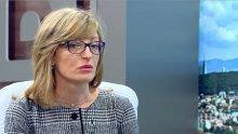 Вицепремиерът Екатерина Захариева с горещ коментар за евопредседателството, показните убийства и предстоящите визити на Путин и Ердоган