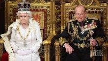 Елизабет Втора се оплака колко й тежи кралската корона