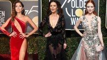 Звездите от Холивуд облякоха супер разголени рокли срещу сексуалното насилие