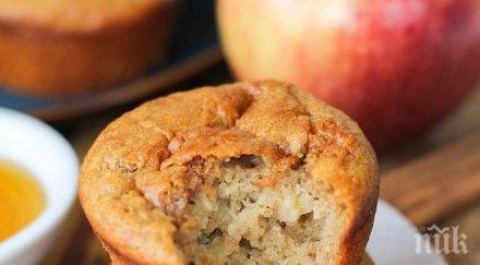 мъфини ябълки