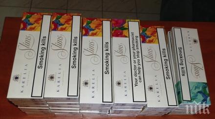 Заловиха 500 кутии контрабандни цигари