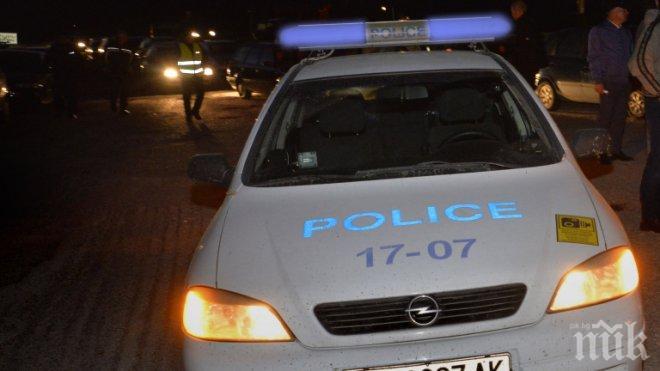 КАТО НА КИНО! Полицаи и затворник в опасна гонка в Старозагорско