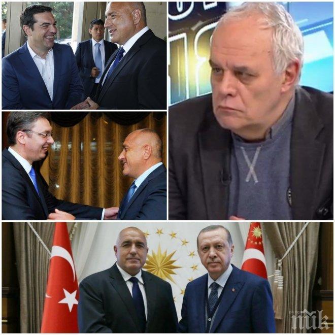 ЕКСКЛУЗИВНО! Андрей Райчев с изключителна оценка за Борисов: Постигна уникални отношения с Ердоган и направи огромна крачка за Балканите