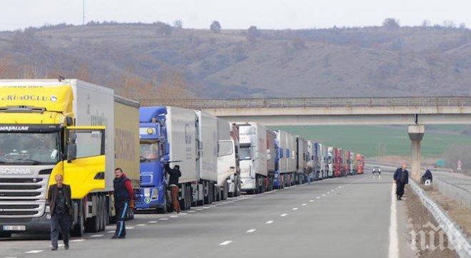 Спират камионите над 12 тона през Котленския проход