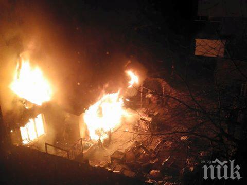 Огнеборци спасиха от пожар 12 прасета и 20 тона въглища