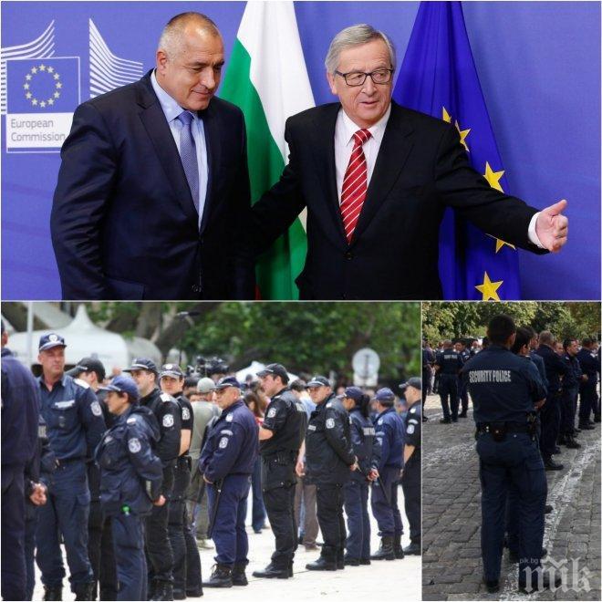 НАПРЕЖЕНИЕ! Полицаите готвят протест в София за старта на европредседателството