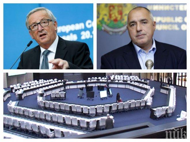 ИЗВЪНРЕДНО В ПИК TV! Борисов и Юнкер с важни изявления за задачите на българското европредседателство  (ОБНОВЕНА)