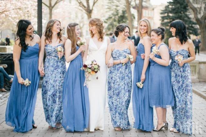 ВАЖНО ЗА ДАМИТЕ! 5 неща, които никога не трябва да носите на сватба