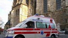Жестока катастрофа между кола и автобус уби трима в Прага, 45 са ранени