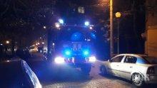 ИЗВЪНРЕДНО! Пожар пламна в блок в София (СНИМКА)