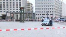 Паника в Берлин! Отцепиха площад заради подозрително куфарче (ВИДЕО)