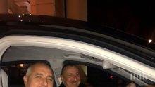 ВИСОКА ЧЕСТ! Президентът на Азербайджан лично подкара лимузината с Борисов