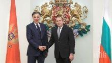 Румен Радев се среща с черногорския си колега Филип Вуянович