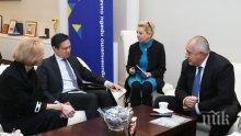 ВАЖНО! Борисов се срещна със заместник помощник държавния секретар на САЩ (СНИМКИ)