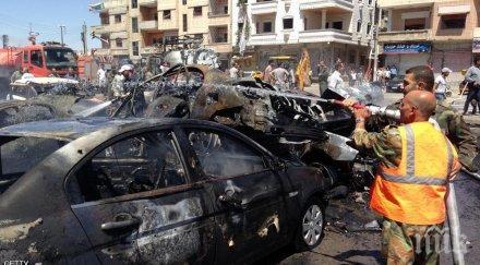 ИЗВЪНРЕДНО! Самоубиец се взриви в кортежа на иракско официално лице