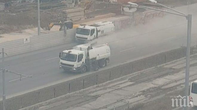 Глобиха фирмата, която замърсява вместо да чисти в София