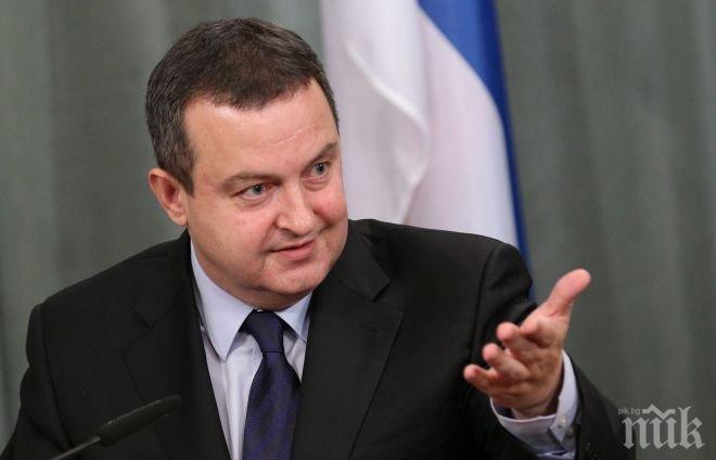 Ивица Дачич: Сърбия ще отвори още глави от предприсъединителните преговори с ЕС