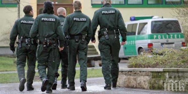 Германските власти пуснаха американска колона от бронетехника