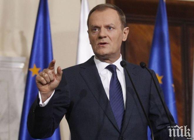 Хит! 1 млн. българи питат за речта на Туск