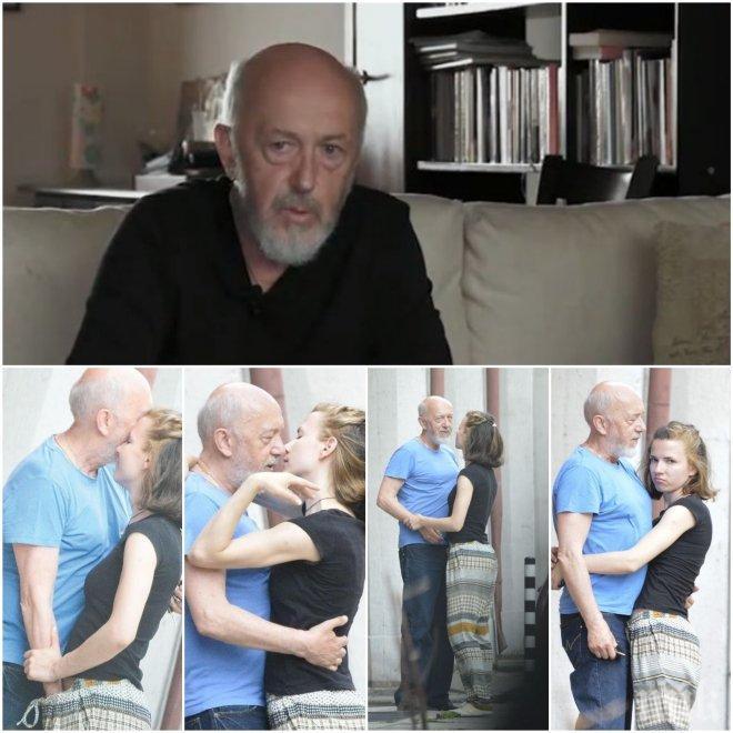 ЕКСКЛУЗИВНО В ПИК! Пенсионираха Стоян Алексиев след скандалните СНИМКИ с любовницата му Ивана