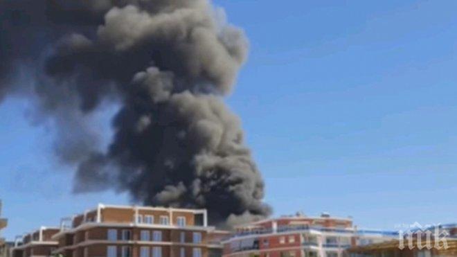 Осем души бяха ранени при експлозия на газ в Омск